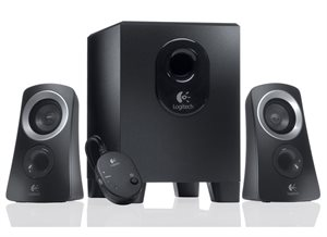 Logitech Z313 2.1 Speakers - Black