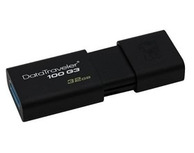 32G Kingston Data Traveler DT100 G3 USB 3.0 Flash Drive