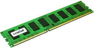 Crucial 4GB DDR3 PC12800 1600MHz CL11 Dual Ranked Desktop RAM
