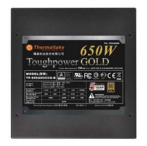 650W Thermaltake Toughpower Modular Power Supply 80+ Gold Rating