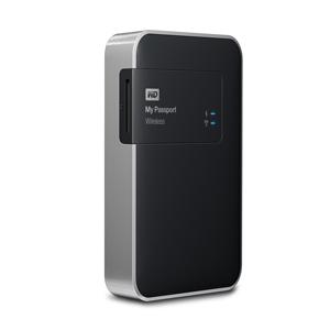 """Western Digital 1TB 2.5"""" My Passport Wireless USB3.0 External Hard Drive"""