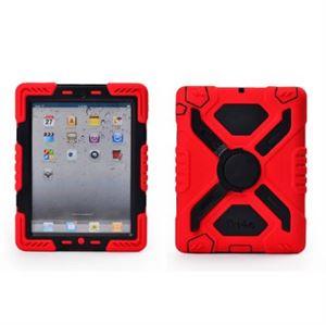 iPAD AIR Pepkoo Case - Red/Black