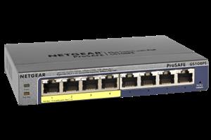 Netgear ProSafe 8-port Gigabit Switch with 4-port PoE