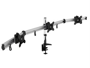 "VisionMounts Aluminium Desk Clamp Supporting 3 27"" Monitors - VM-LCD-MP230C-EX"