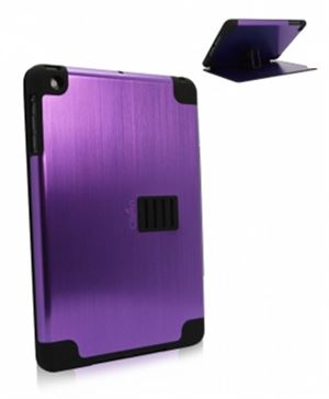 Obien iPad Mini 1 Case & Stand Space Aluminium - Purple