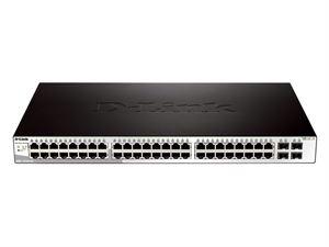 D-Link DGS-1210-52 48 PORT 10/ 100/ 1000MBPS + 4 PORT SFP WEBSMART SWITCH