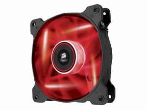 Corsair Air Series SP 120 Static Pressure Optimized Case Fan - Red LED, Single Fan