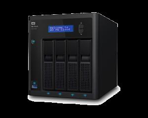 WD 4 Bay My Cloud EX4100 Expert Series - 8TB HDD