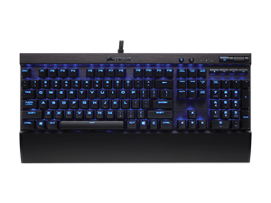 Corsair K70 LUX Mechanical Gaming Keybaord - Blue LED - Cherry MX Red