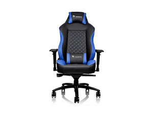 Thermaltake GTC500 Comfort Gaming Chair - Black & Blue