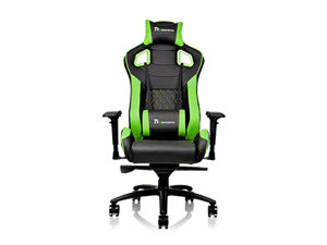 Superb Thermaltake Gtf100 Fit Gaming Chair Black Green Centre Pdpeps Interior Chair Design Pdpepsorg
