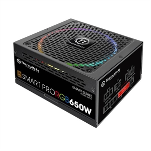 Thermaltake 650W Smart Pro RGB Fully Modular 80+ Bronze Power Supply
