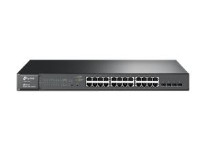 TP-Link T1600G-28PS 24 Port Gigabit PoE 4x Combo SFP 180W Smart Swtich