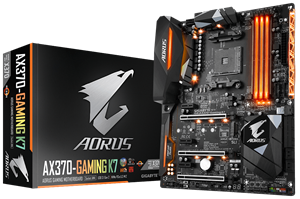Gigabyte AORUS AX370 Gaming K7 AM4 ATX Motherboard
