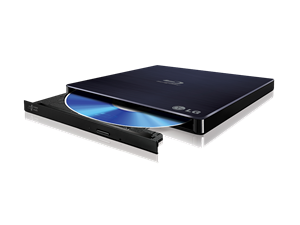 LG BP50NB40 USB Blu-Ray Burner Slim External Optical Drive - Retail
