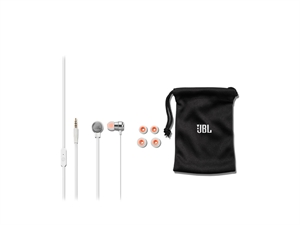 JBL T280A Earphones with Microphone and Remote - Silver