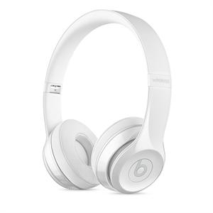 Apple Beats Solo 3 Wireless On-Ear Headphones - Gloss White