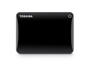 Toshiba 2TB Canvio Connect II Portable Hard Drive - Black
