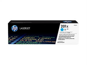 HP 201X High Yield Original LaserJet Toner Cartridge - Cyan