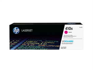 HP 410X High Yield Original LaserJet Toner Cartridge - Magenta