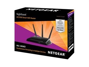 Netgear R7000P Nighthawk AC2300 MU-MIMO Dual-Band WiFi Router