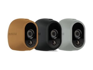 Netgear Arlo Replaceable Multi-colored Silicone Skins - Brown, Black, Grey