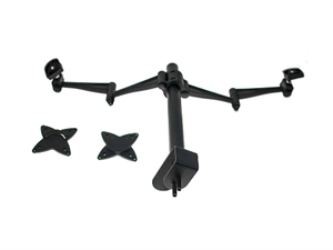 """Astrotek Monitor Stand Desk Mount for Dual Screens - Fit Most 13""""-27"""""""