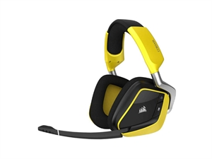 Corsair Gaming Void Pro RGB Wireless Special Edition Headset - Yellow