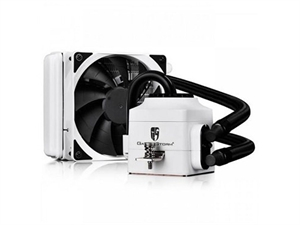 DeepCool Gamer Storm Captain 120EX AIO Liquid CPU Cooler - White