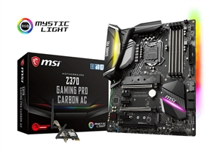 MSI Z370 Gaming Pro Carbon AC Intel 8th Gen Motherboard