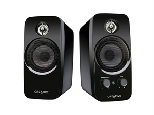 Creative SBS A250 21 Compact Speaker System IFP Black