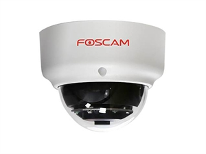 Foscam 2MP Vandal-Proof IK10 IP66 Dome Wired PoE Camera