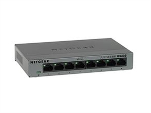Netgear GS308 SOHO 8 Port Gigabit Unmanaged Switch