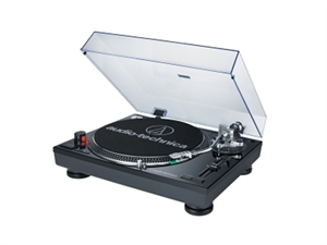 Audio-Technica Direct Drive Turntable Record Player - Black
