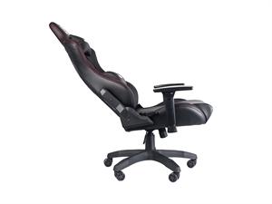 Karuza YX-0026 Gaming Chair - Black/Red Trim