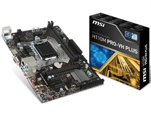 MSI H110M VH Plus mATX LGA 1151 Motherboard - DDR4
