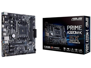 ASUS Prime A320M-K AM4 mATX Motherboard