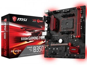 MSI B350 Gaming Pro AM4 mATX Motherboard