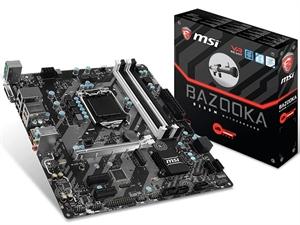 MSI B250M Bazooka Intel 6th/7th Gen Motherboard