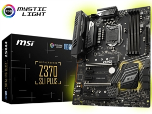 MSI Z370 SLI Plus Intel 8th Gen MotMotherboard