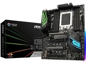 MSI X399-SLI-Plus ATX TR4 Motherboard