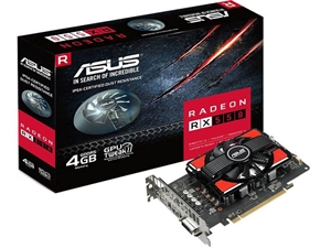 ASUS Radeon RX 550 4GB Graphics Card