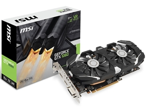 MSI GeForce GTX 1060 OC V2 6GB Graphics Card