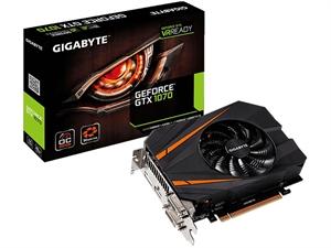 Gigabyte nVidia GeForce GTX 1070 Mini ITX OC 8GB Graphics Card