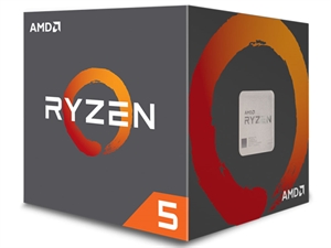 AMD Ryzen 5 1600 6 Core AM4 CPU (Wraith Spire Cooler)