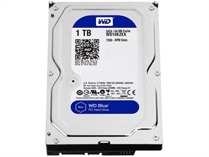 "Western Digital Caviar Blue 1TB 3.5"" Internal Hard Drive - WD10EZEX"