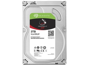 "Seagate Ironwolf 3TB 3.5"" NAS Hard Drive - ST3000VN007"