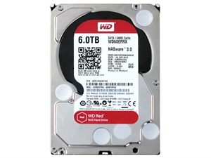 "Western Digital Red 6TB 3.5"" Internal Hard Drive - WD60EFRX"
