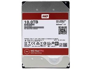 """Western Digital Red PRO 10TB 3.5"""" NAS Hard Drive - WD101KFBX"""