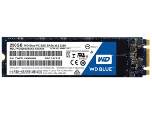 Western Digital WD Blue 250GB PC M.2 2280 SSD